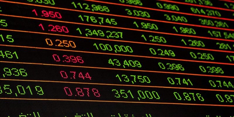 stock and share prices
