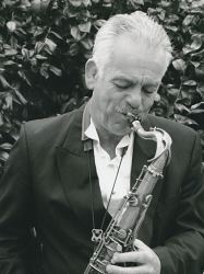 martin dale playing a sax