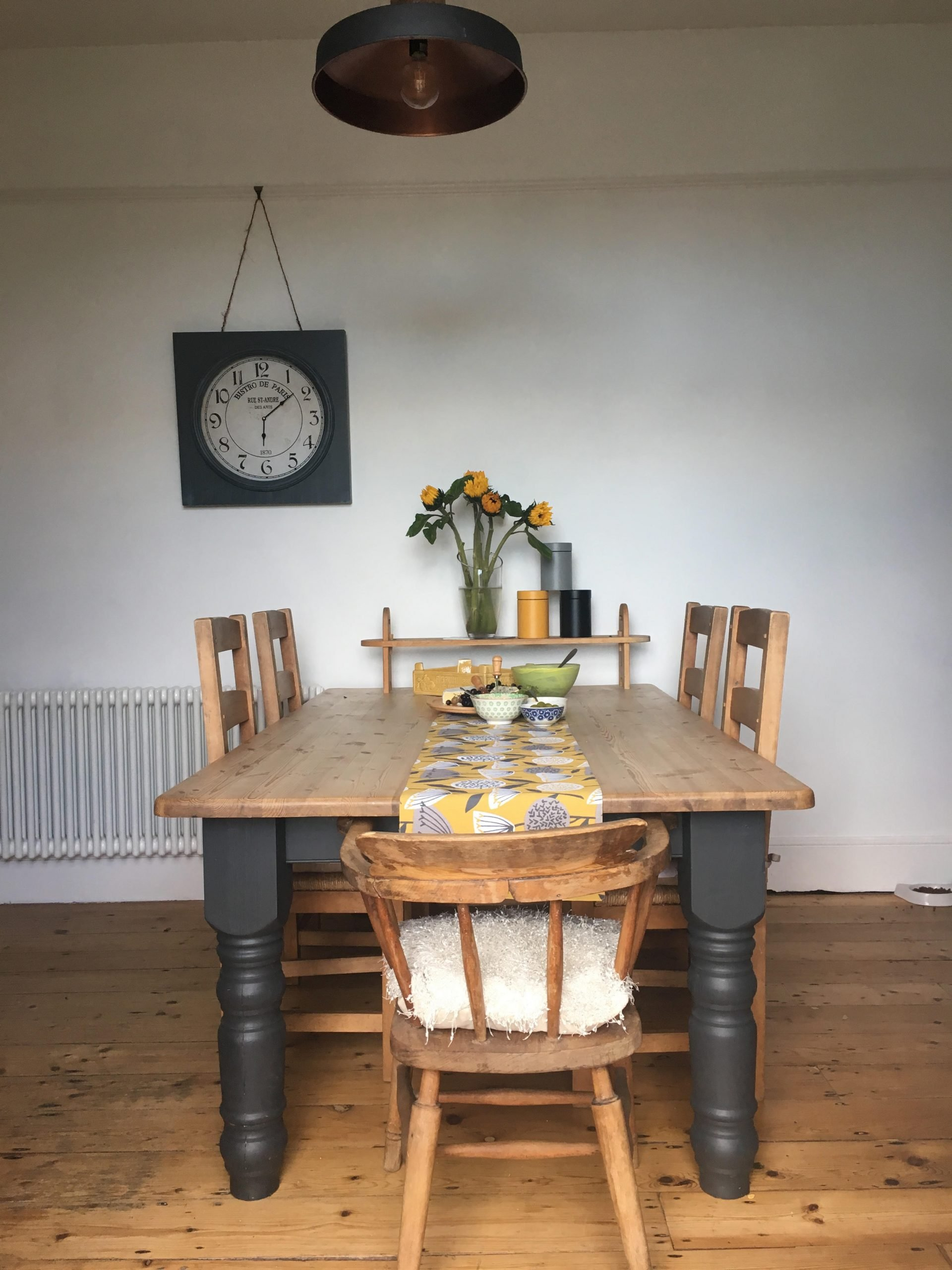 table and chairs in jayne ashenburys home