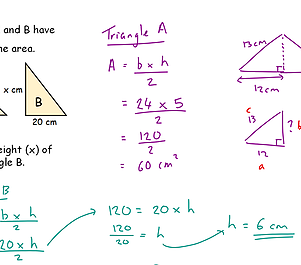 triangle calculations